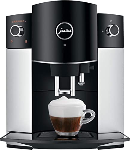 Jura D6 Automatic Coffee Machine, 1, Platinum
