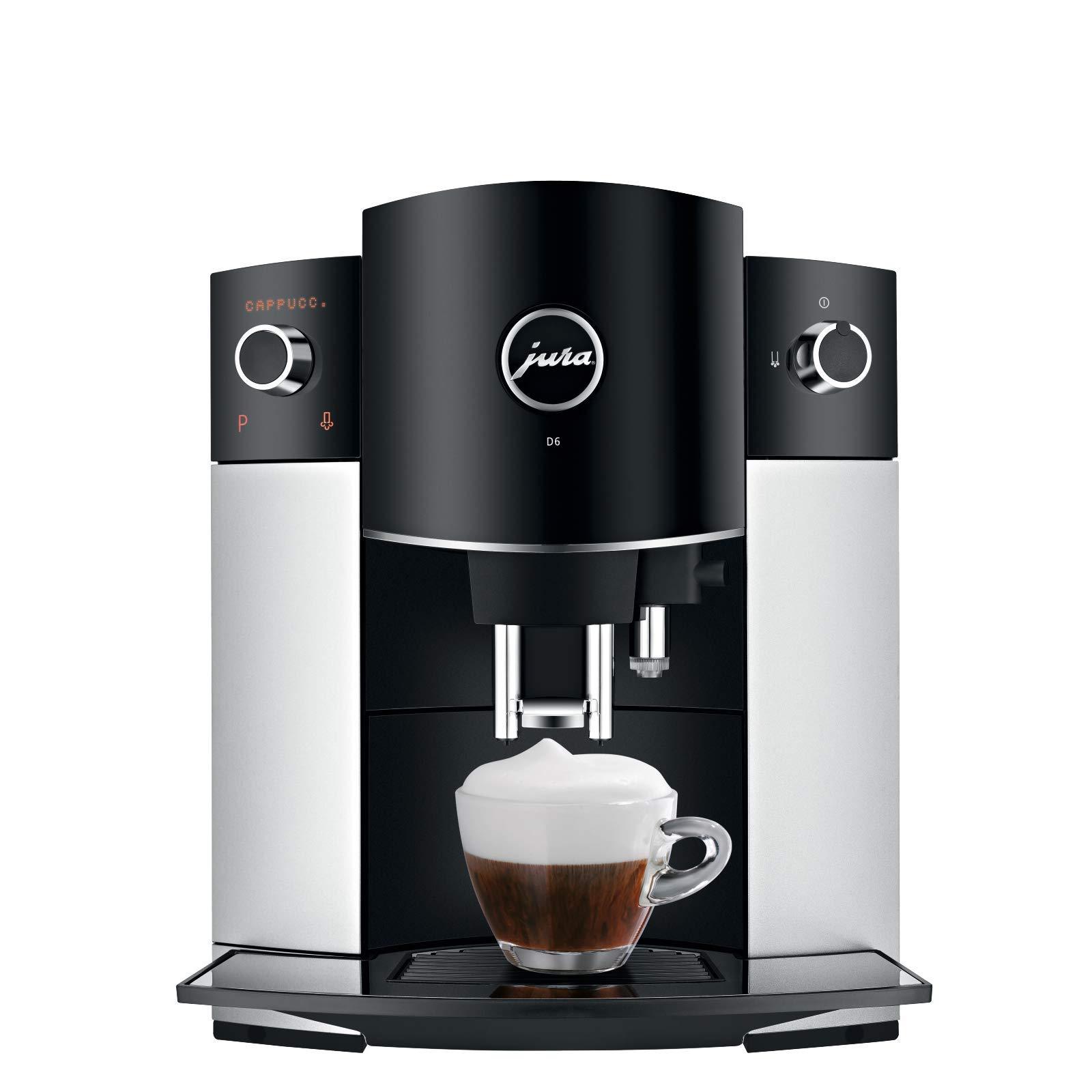 Jura D6 Platinum Super-Automatic Espresso Machine by Jura