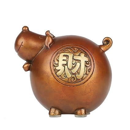 Amazon.com: 2018 Símbolo chino del Perro Año Cobre rojo Feng ...