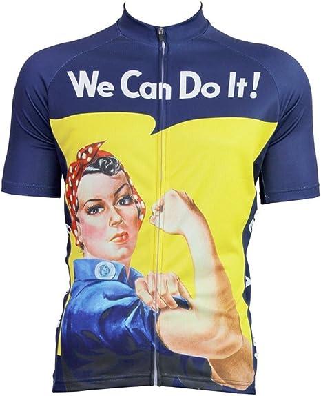 al-1027 laoyou Jersey de Ciclismo para Hombre para bicicleta de montaña deportes manga corta Jersey bicicleta camisa de ciclo desgaste camisas Tops Transpirable y cómodo, hombre, color Short Sleeve, tamaño small: Amazon.es: