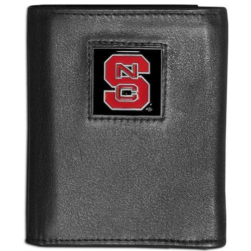 (NCAA North Carolina State Wolfpack Leather Tri-Fold)