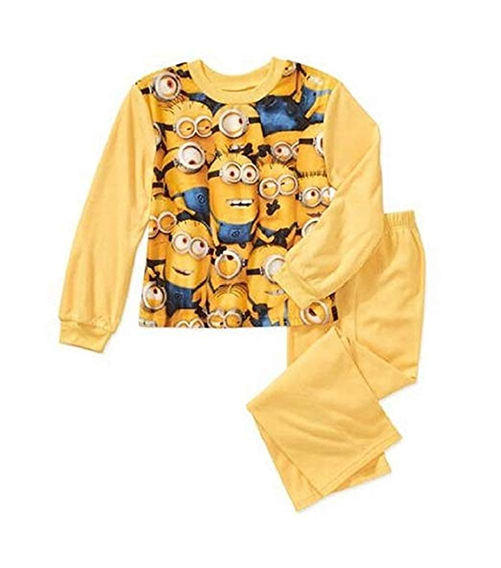 Size 10//12 Despicable Me Minions Minion 2-Piece Flannel Pajama Set