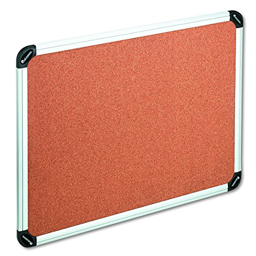 (Universal 43714 Cork Board with Aluminum Frame, 48 x 36, Natural, Silver Frame)