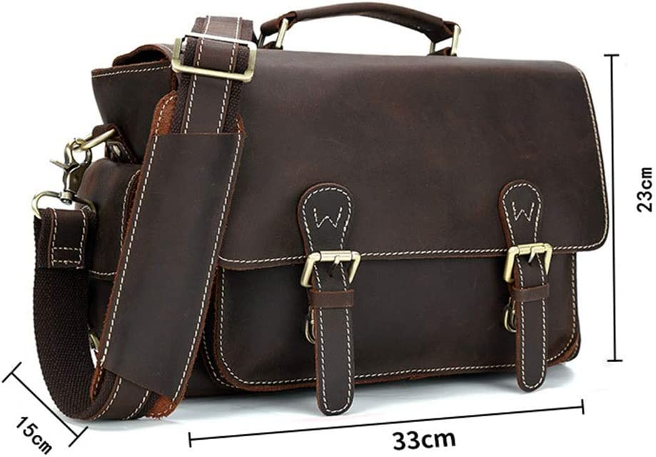 RuiXia Motorcycle Bag Detachable Inner Bag Leather Single-Shoulder Cross-Body Multi-Purpose Bag Exquisite Camera Bag -331523cm Well-Made SLR Camera Bag Unisex Cross-Body Bag