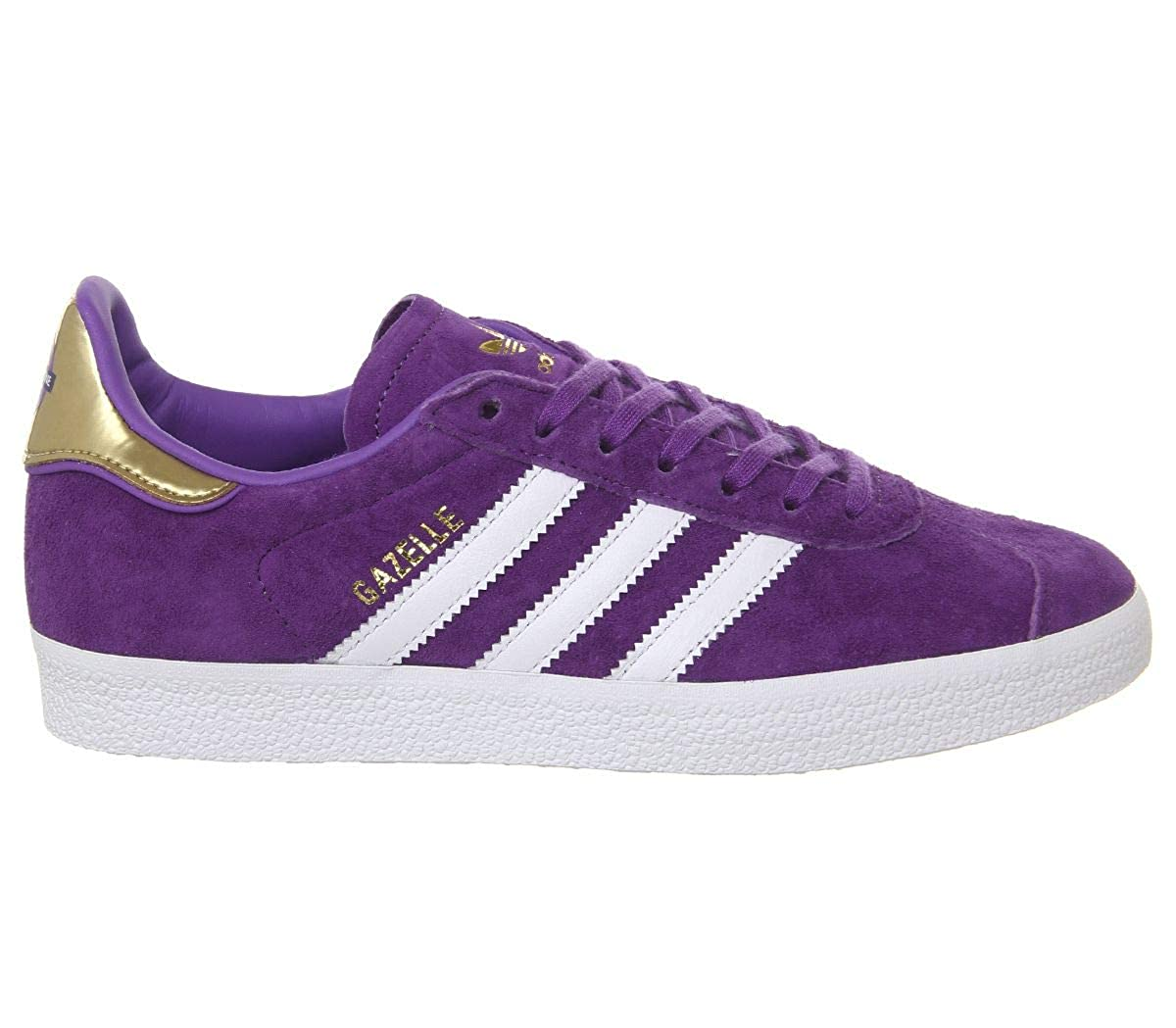 best sneakers 02534 bb7c1 adidas Unisex Adult Gazelle Low Top, Black, 40 2 3 EU  Amazon.co.uk  Shoes    Bags