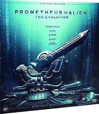 Alien Antología Colección Vintage Funda Vinilo DVD: Amazon.es ...