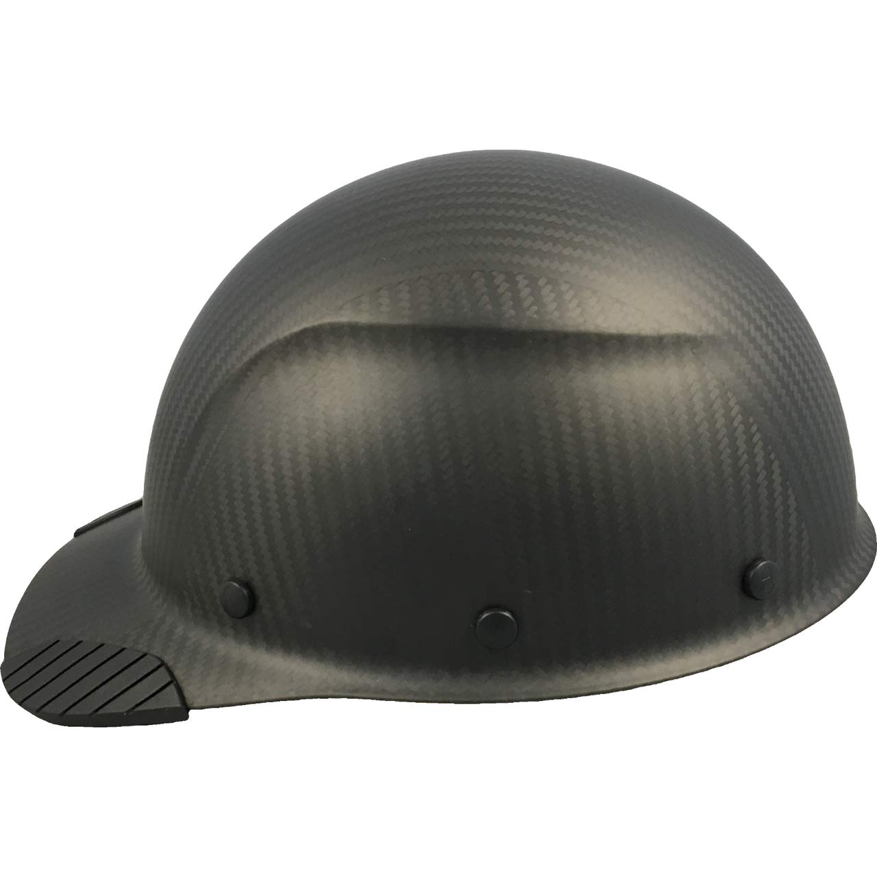 DAX Actual Carbon Fiber Cap Style Hard Hat - Matte Black by DAX (Image #2)