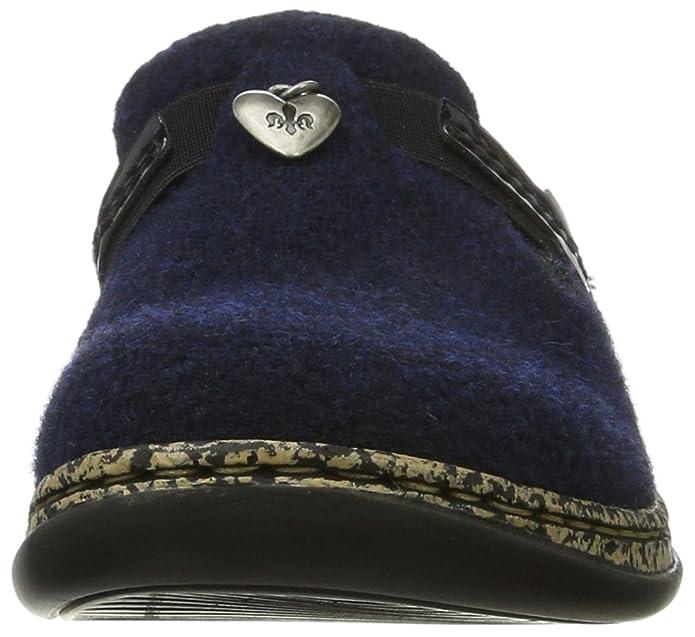 Rieker 46300, Zuecos para Mujer, Azul (Navy/Marine), 36 EU
