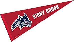 College Flags & Banners Co. Stony Brook Seawolves Pennant Full Size Felt