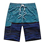 Clothing Square shorts Summer Beach Pants Men Loose Shorts Men's Large Size Quick-Drying Surfing Shorts,Small,9Colors