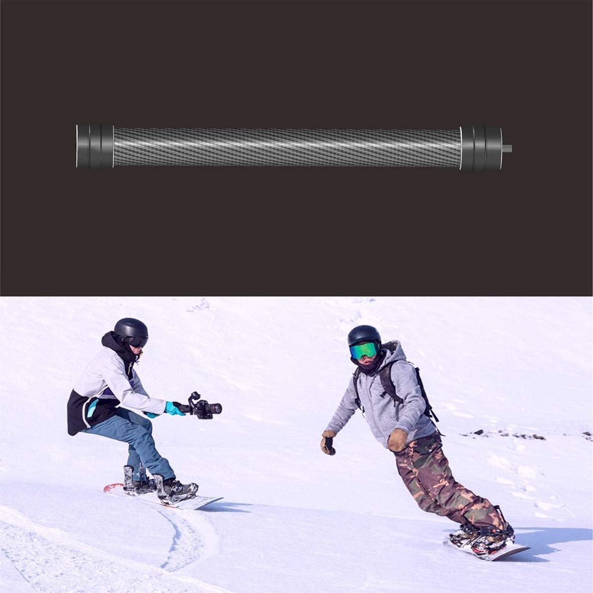 Carbon Fiber Extend Rod Extension Stick for Ronin S Handheld Bars for DJI Ronin S Gimbal Stabilizer Extender Accessory
