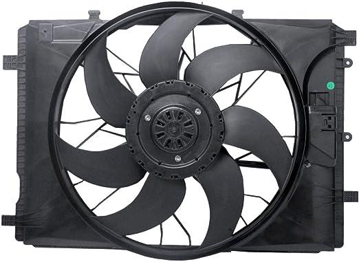 TOPAZ 2465000064 - Ventilador para motor eléctrico (4 pines, 400 W, para clase A/B/GLA, CLA, SLK, SLC, W176, W246): Amazon.es: Coche y moto