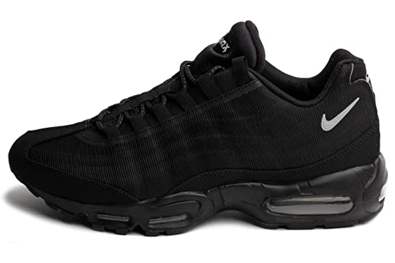 release date: 13542 86fb5 Nike Air Max 95 Premium Tape - Black Silver (Reflective Pack) - 599425 002  9  Amazon.co.uk  Sports   Outdoors