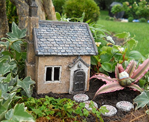 Mini fairy garden cottage small import it all for Little garden imports