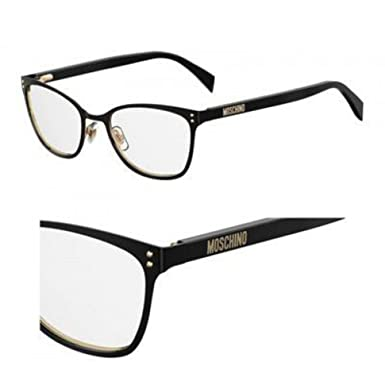 23d84794297 Eyeglasses Moschino Mos 511 0807 Black at Amazon Men's Clothing store: