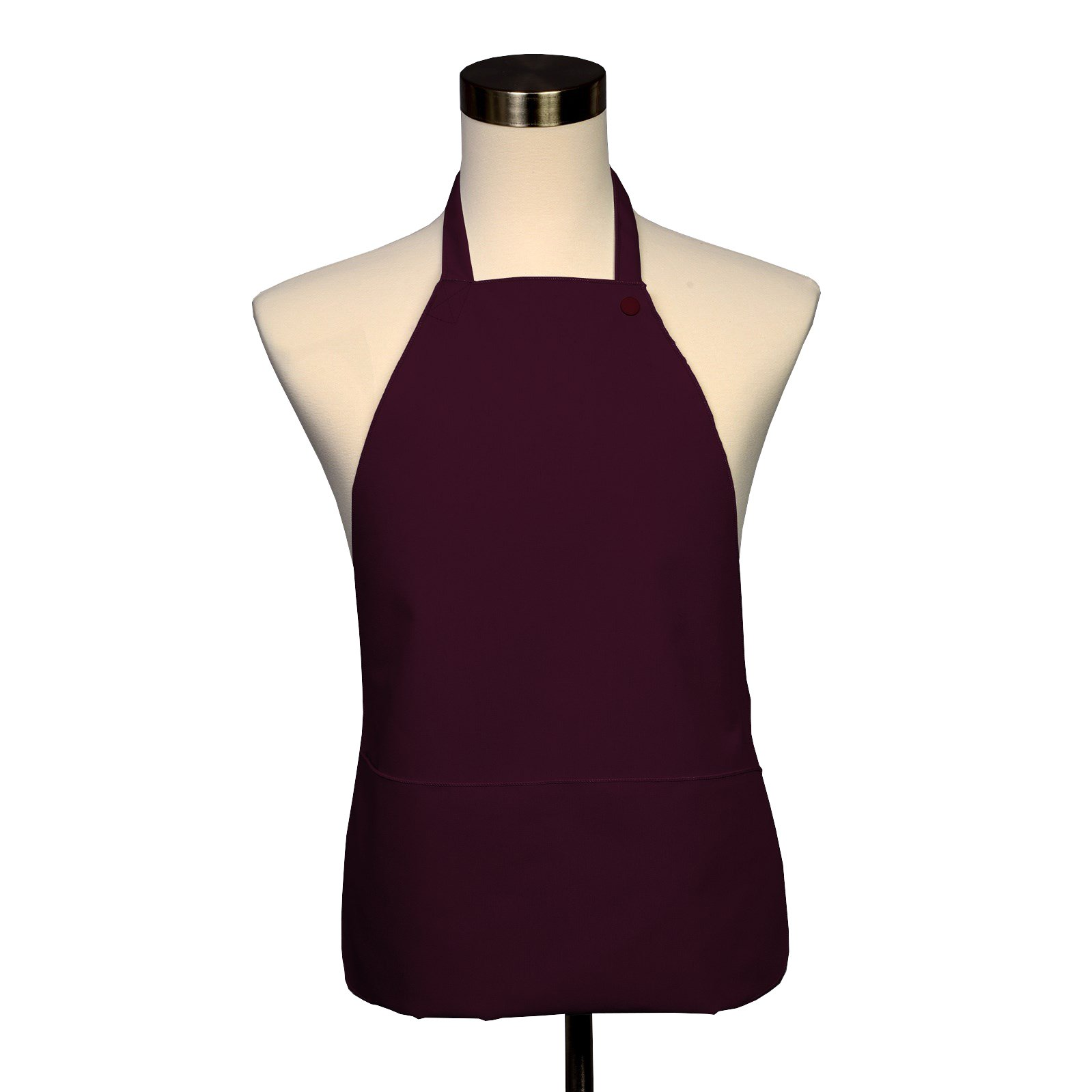 Adult Bib 10 Pack - Covered with Care Assorted Colors Available! (Burgundy)