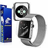 Apple Watch 38mm (Series 2) Screen Protector + Full Body, ArmorSuit MilitaryShield Full Skin + Screen Protector For Apple Watch 38mm (Series 2) -HD Clear Anti-Bubble