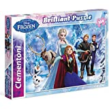 Clementoni - 20127 - Brilliant Puzzle - Frozen - 104 Pieces - Disney