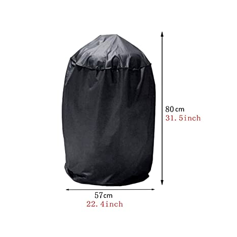 Amazon.com : 3-Sizes Waterproof BBQ Grill Black Barbeque Cover Rain ...