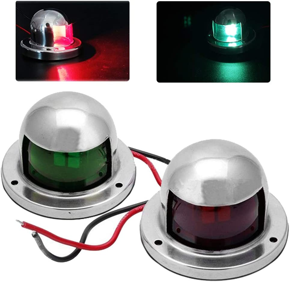 LED Navigation Light 360 Degree Daylight White for Marine Boat /& Yacht 12VDC