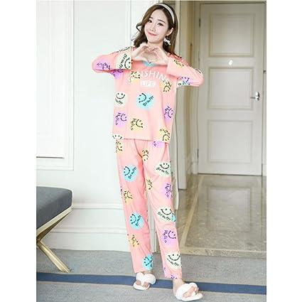 MOXIN Algodón Pijamas Conjuntos De Moda Para La Mujer Ropa De Cama Niñas Ropa De Dormir