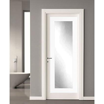 Merveilleux BrandtWorks BM3THINH Modern Over The Door Full Length Dressing Mirror,  21.5u0026quot; X 71u0026quot;