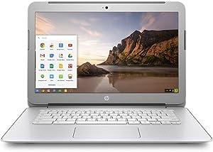 HP Chromebook F7W49UA#ABA 14-Inch Netbook (White)
