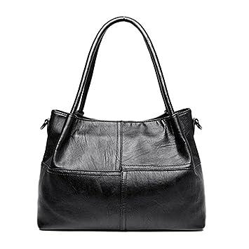 Bolsas para Mujer bolsos de cuero Bolsos de diseñador cosido ...