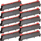 10 High Yield Inkfirst® Toner Cartridges TN-660 (TN660) Compatible Remanufactured for Brother TN-660 Black MFC-L2700DW MFC-L2720DW MFC-L2740DW HL-L2300D HL-L2305W HL-L2320D HL-L2340DW HL-L2360DW HL-L2380DW DCP-L2520DW DCP-L2540DW