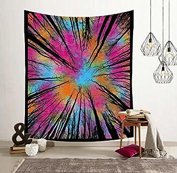 La India Yoga Folk Tapiz Niño Habitación dormitorio Salón Dormitorio pintura tela de fondo Foto Manta ...