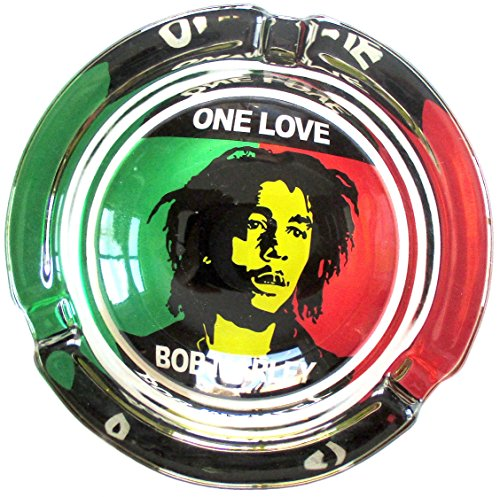Bob-Marley-One-Love-Weed-Round-Glass-Ashtray