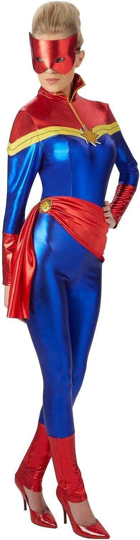 Rubies s – Disfraz de capitán Marvel Oficial – tamaño mediano ...