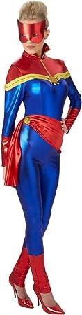 Rubies s – Disfraz de capitán Marvel Oficial – XS: Amazon.es ...