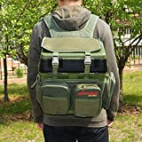 Search : Fishing Wader Bag,Portable Outdoor River Fishing Backpack For Trays Tools,Shoulder Carry Strap Storage Pack