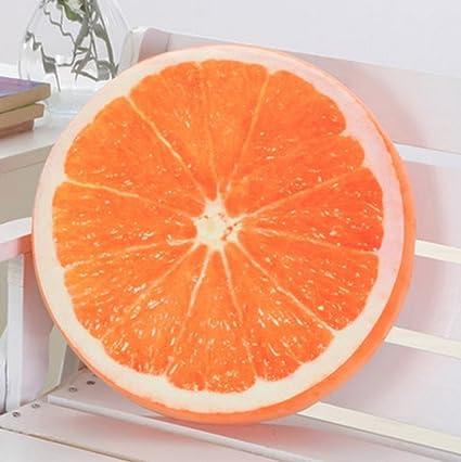 Cojines de fruta de la sandía amortiguador trasero regalos Colchones Juguetes Oficina extraíble Lavar la siesta