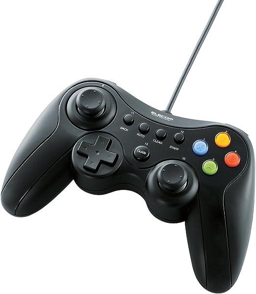 Elecom JC-U3613M Gamepad PC, Xbox 360 Negro - Volante/mando ...