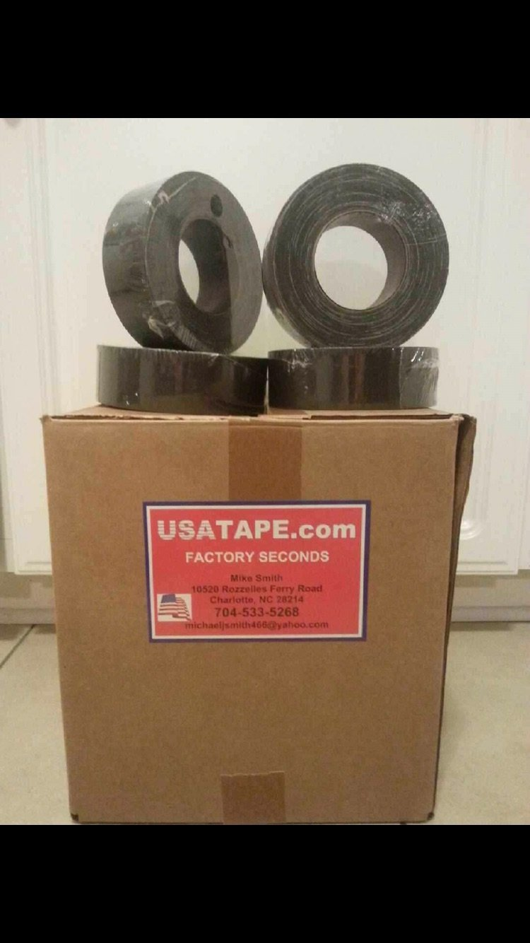 12 Rolls 2 X 60 Black Gaffers Tape Audio Stage Tape Gaffer MADE IN USA