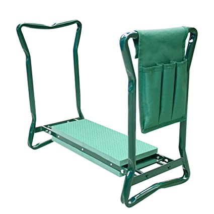 Amazon.com: Fancy Buying - Rodillera de jardín y asiento con ...
