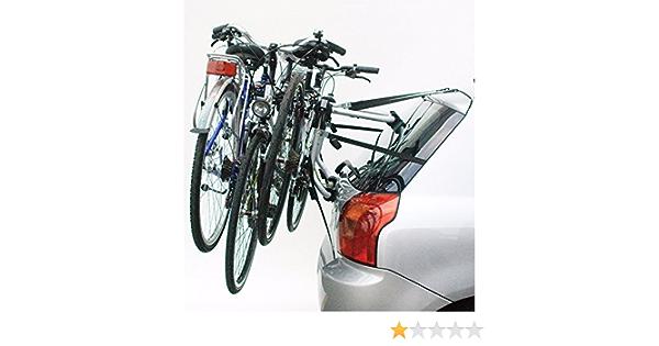 Porta 3 Bicicletas Posterior Portabicicletas Peruzzo para Coche Homologado 6248: Amazon.es: Coche y moto