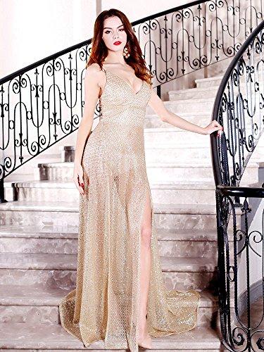 Missord Damen Cocktail Kleid
