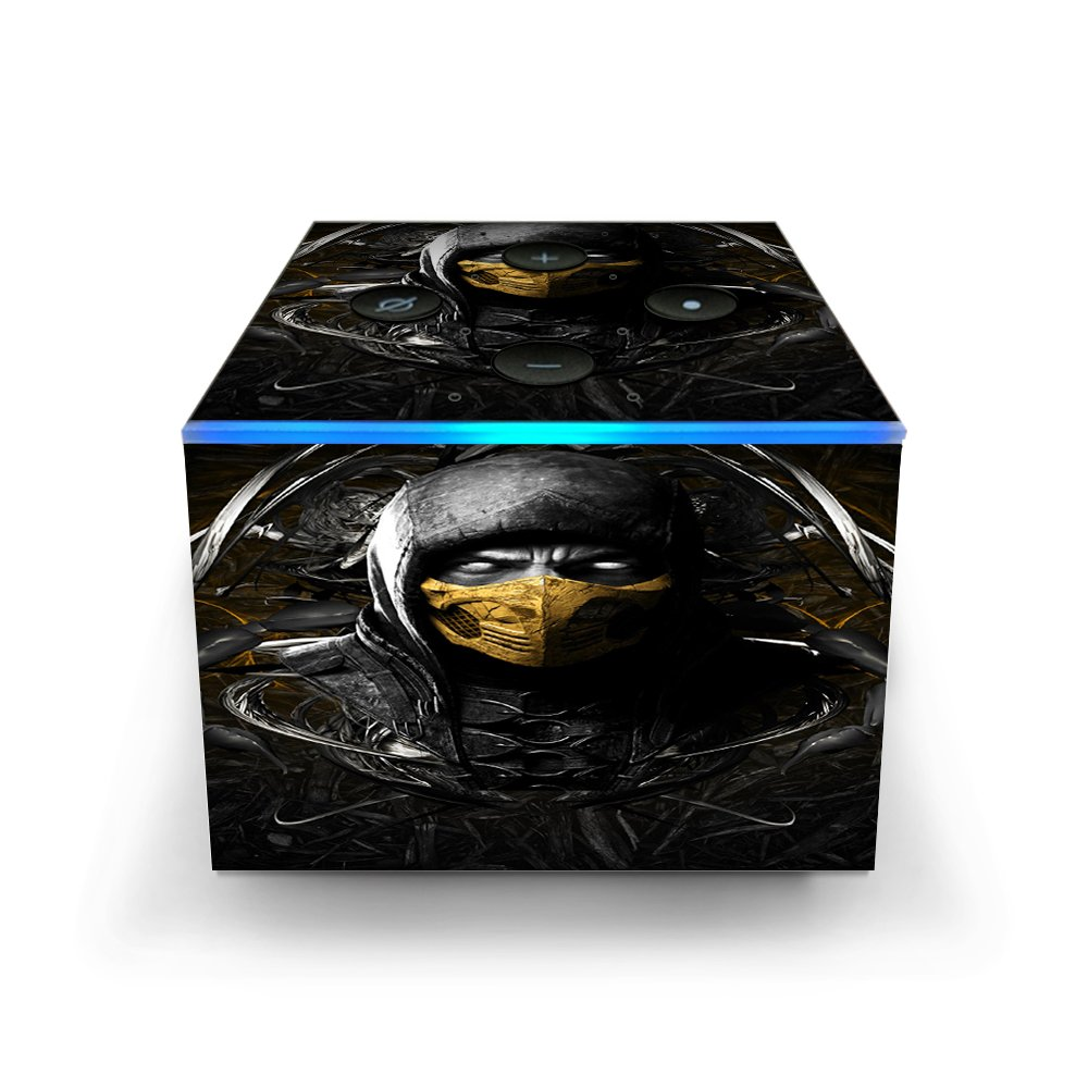 Amazon.com: Skin Decal Vinyl Wrap for Amazon Fire TV Cube ...