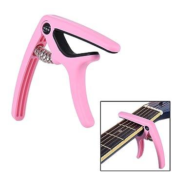 ammoon Eno EGC3 Ligero Cambio Rápido Capo Abrazadera De Acero De Plástico para Acoustic Classical Folk Guitarra Eléctrica Bajo: Amazon.es: Instrumentos ...