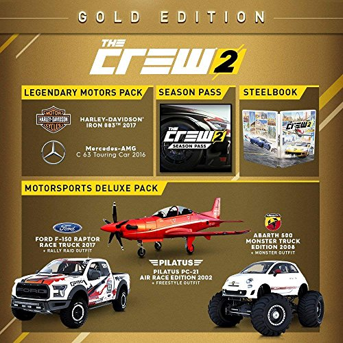 the crew 2 gold edition xbox one. Black Bedroom Furniture Sets. Home Design Ideas