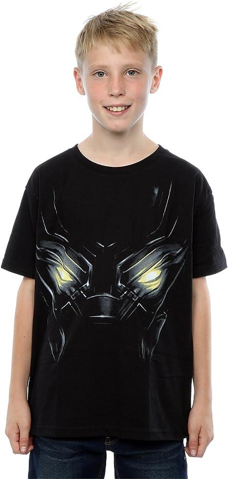 Marvel niños Captain America Civil War Black Panther Eyes Camiseta: Amazon.es: Ropa y accesorios