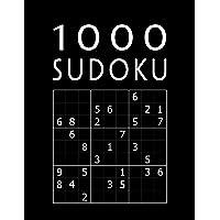 SUDOKU 1000: Jeu Classique | Collection XXL Pour Adultes | Avec Solutions | Niveau: facile - moyen - difficile - diabolique