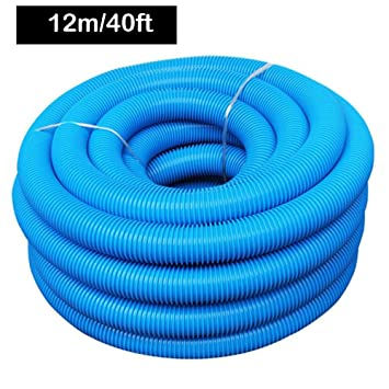 Professional Heavy Duty In Ground Swimming Pool Vacuum Hose With Swivel Cuff Pool Cleaning Accessories