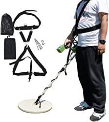 KingDetector Adjustable Sling Swing Harness for Universal Metal Detector Acessories Reduce Stress On Arm Back Shoulders