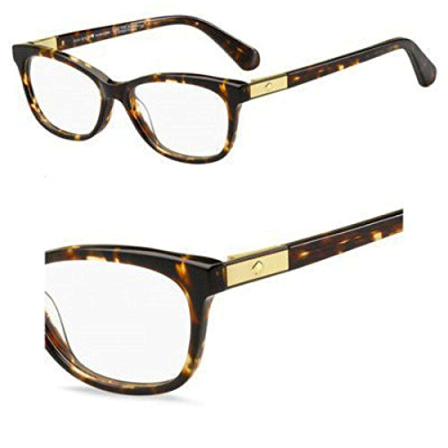 04bbfb432c Kate Spade Amelinda Eyeglasses 0086 Dark Havana 50-15-140  Amazon.co.uk   Shoes   Bags