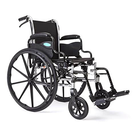 Astonishing Amazon Com Kizen Lightweight Wheelchair For Adults Height Machost Co Dining Chair Design Ideas Machostcouk