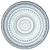 IIttala Kastehelmi Plate, 6.75 inches, Aqua by Oiva Toikka